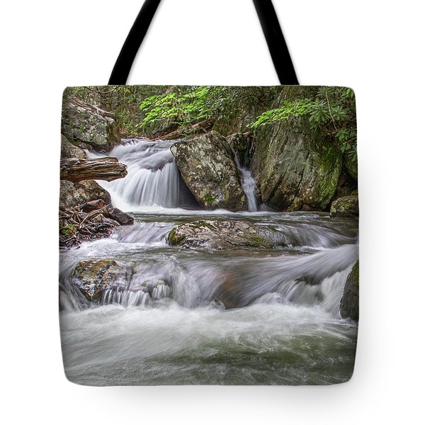 On The Trail To Cascade Falls Tote Bag