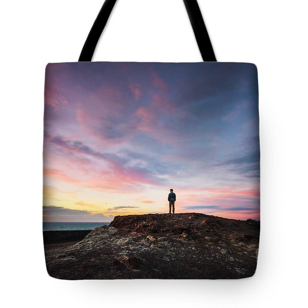 On The Wings Of Light Tote Bag