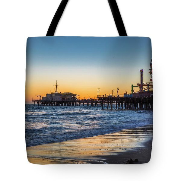 Pacific Park On The Pier Tote Bag
