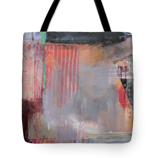 Tote Bag featuring the painting Palimpsest by Jillian Goldberg