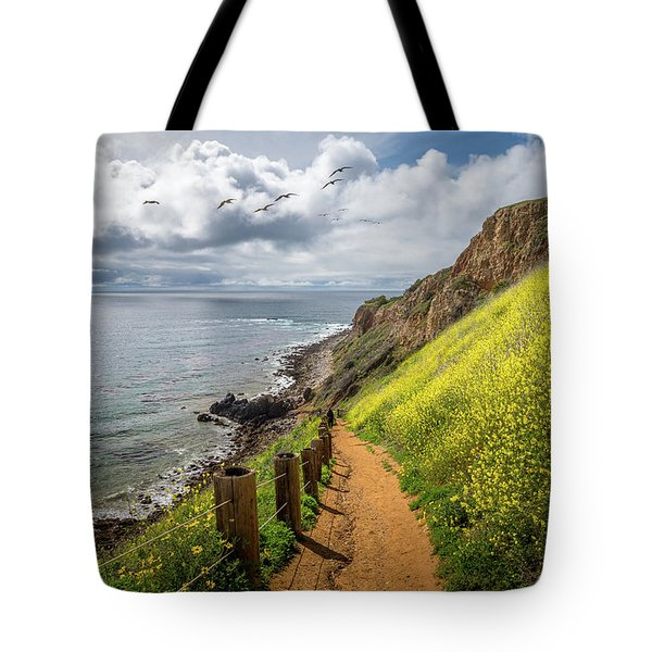 Tote Bag featuring the photograph Pelican Cove Super Bloom by Andy Konieczny