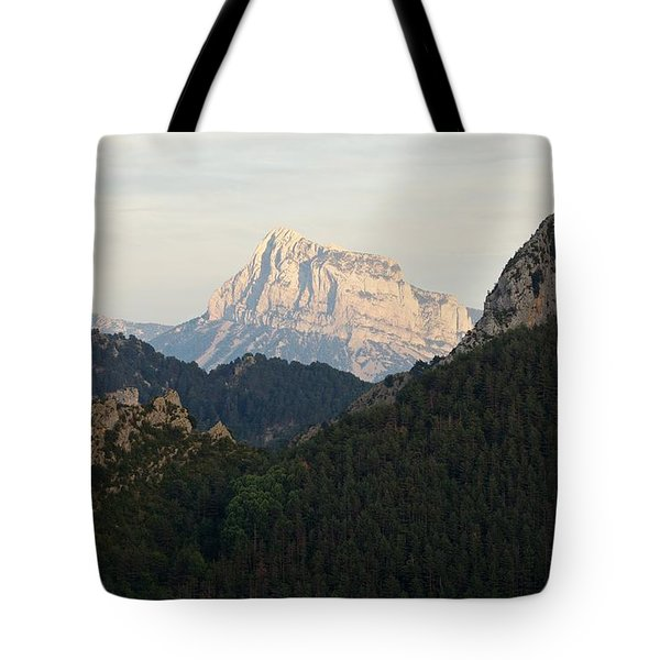 Tote Bag featuring the photograph Pena Montanesa by Stephen Taylor