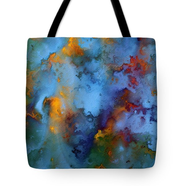 1 Peter 5 7. He Cares For You Tote Bag