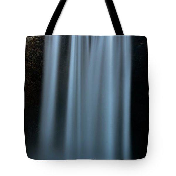 Amongst Giants Skogafoss Iceland Tote Bag