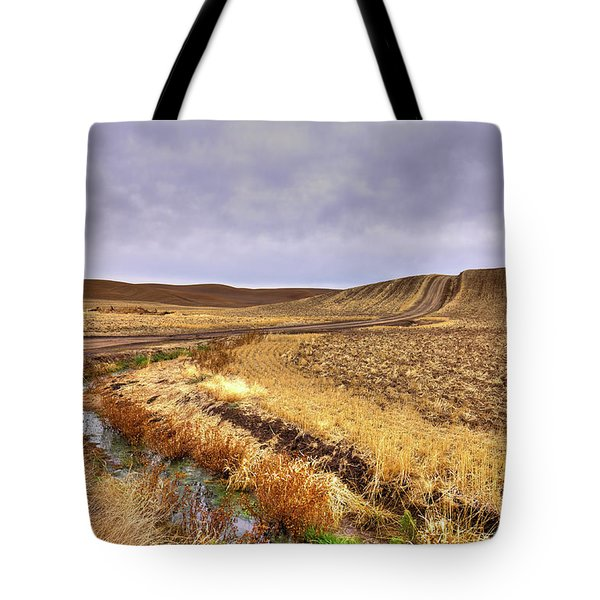 Tote Bag featuring the photograph Plowed Under by David Patterson