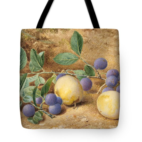 Plums Tote Bag