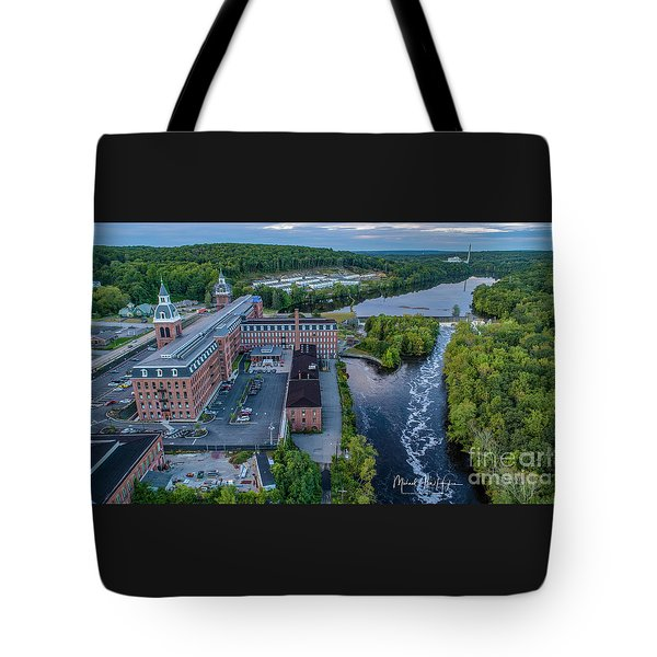 Tote Bag featuring the photograph Ponemah Mill by Michael Hughes