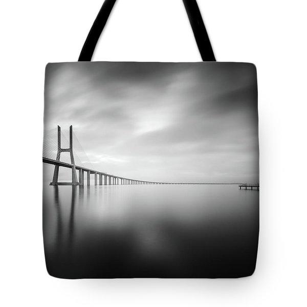 Ponte De Vasco Da Gama, Lisbon Tote Bag