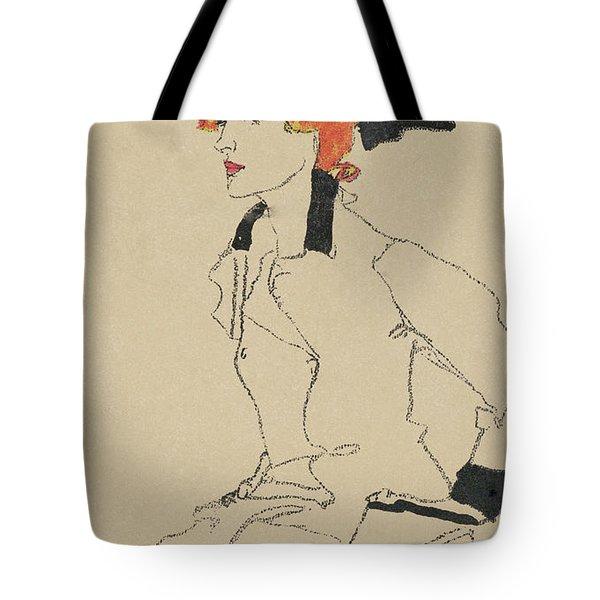 Portrait Of A Woman, 1910  Tote Bag