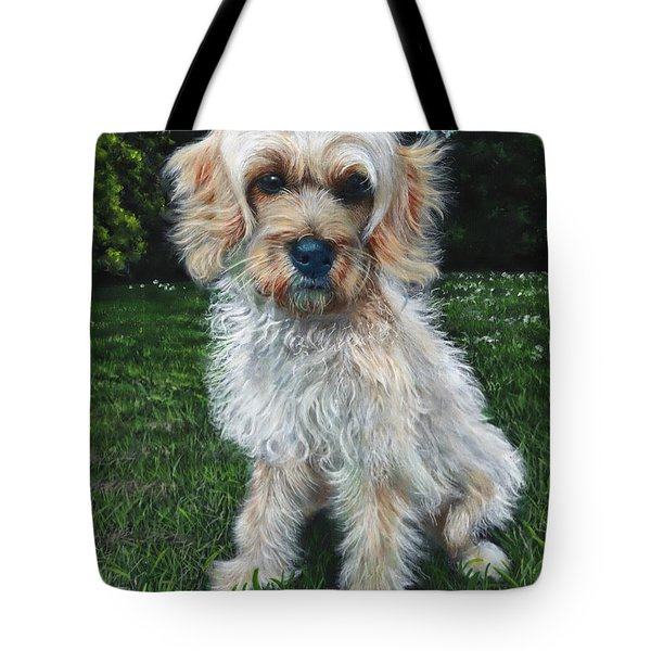 Portrait Of Toffee Tote Bag