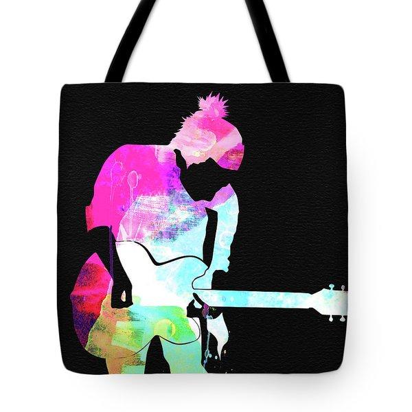 Radiohead Watercolor Tote Bag