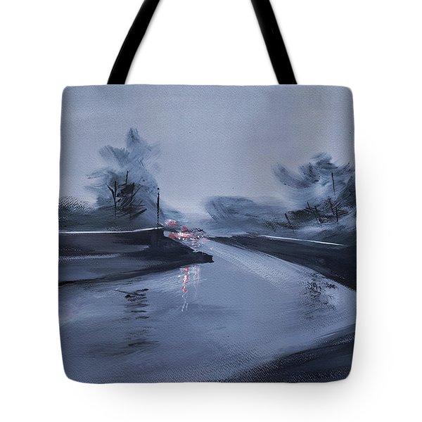 Rainy Day New Tote Bag