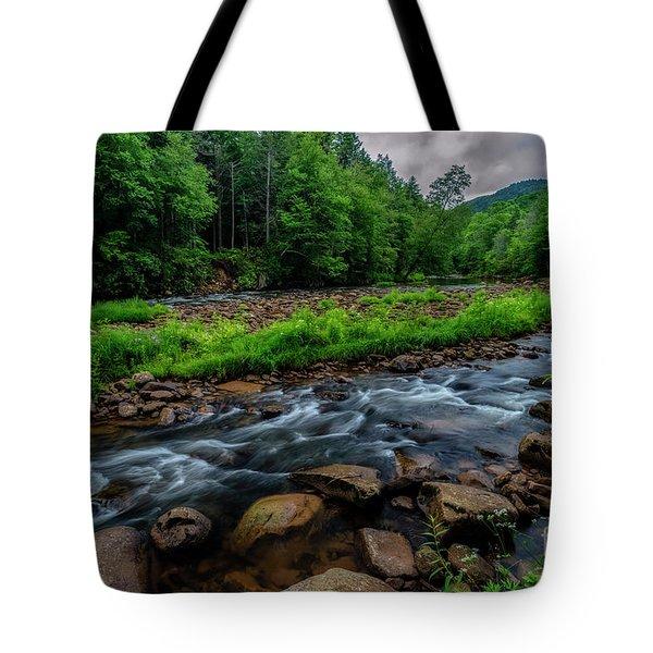 Rainy Day Williams River Tote Bag
