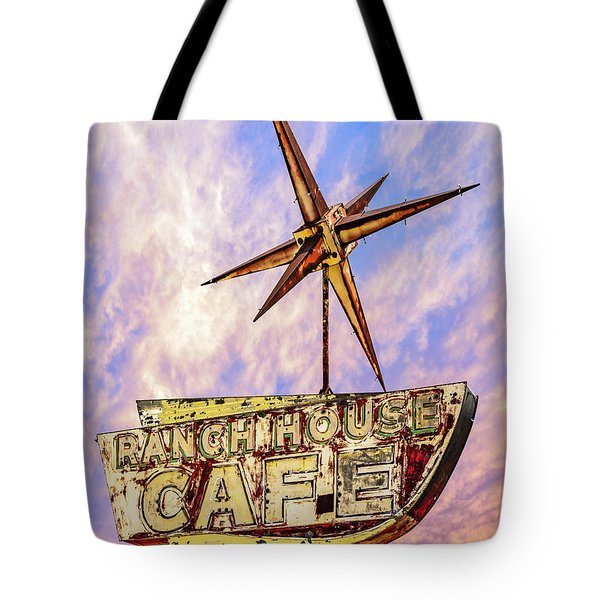 Ranch House Cafe Tote Bag