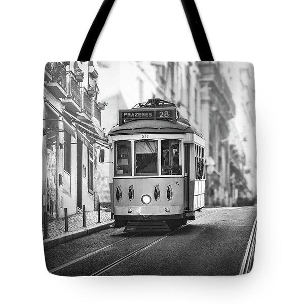 Ride These Streets  Bw Tote Bag