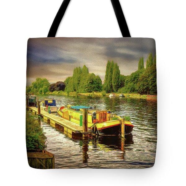 River Work Tote Bag