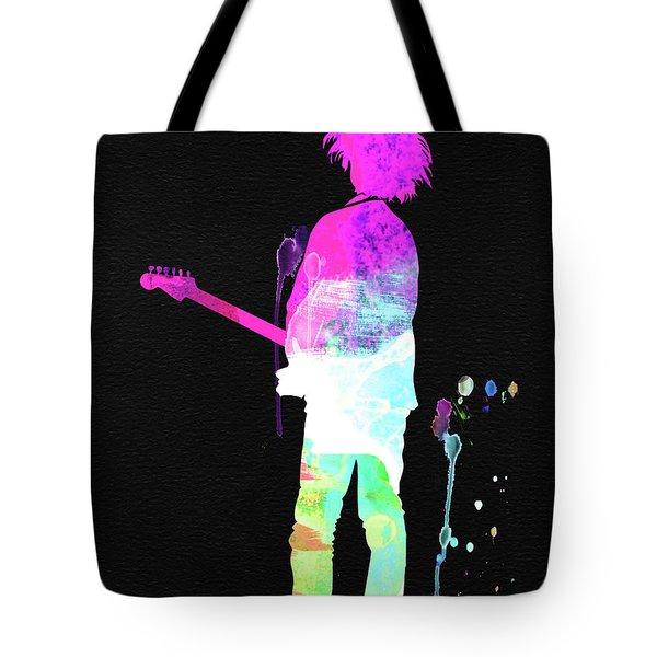 Robert Smith Watercolor Tote Bag
