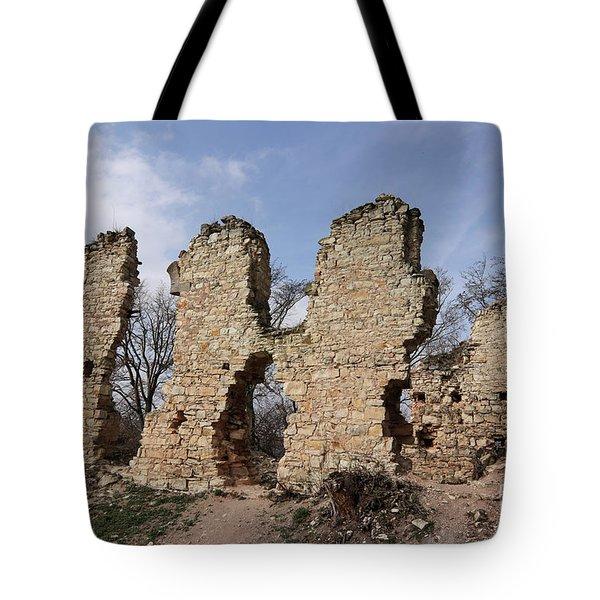 Ruins Of The Pravda Castle Tote Bag