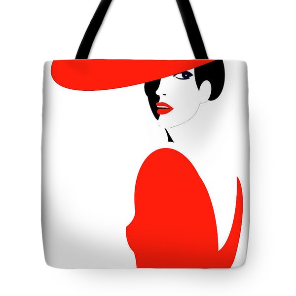 Scarlet Woman 1 Tote Bag