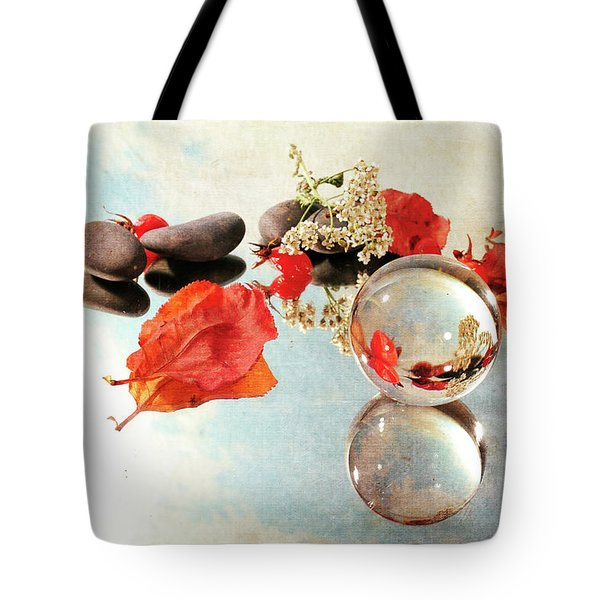 Tote Bag featuring the photograph Seasons In A Bubble by Randi Grace Nilsberg