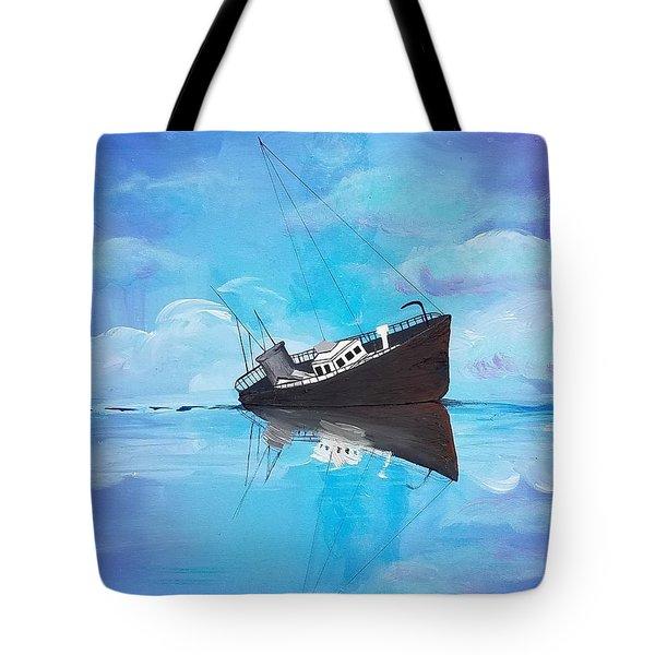Sinking Ship  Tote Bag