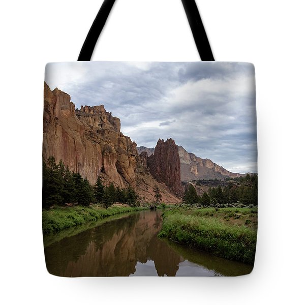 Smith Rock Reflections Tote Bag