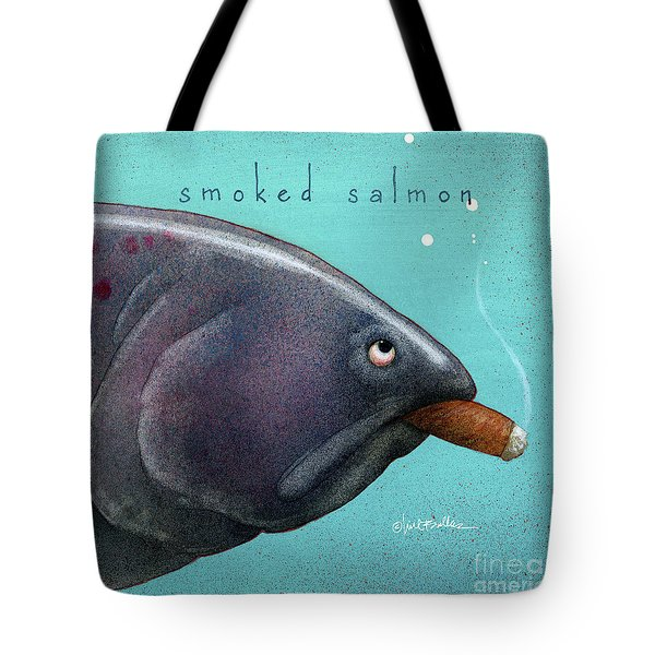 Smoked Salmon Tote Bag