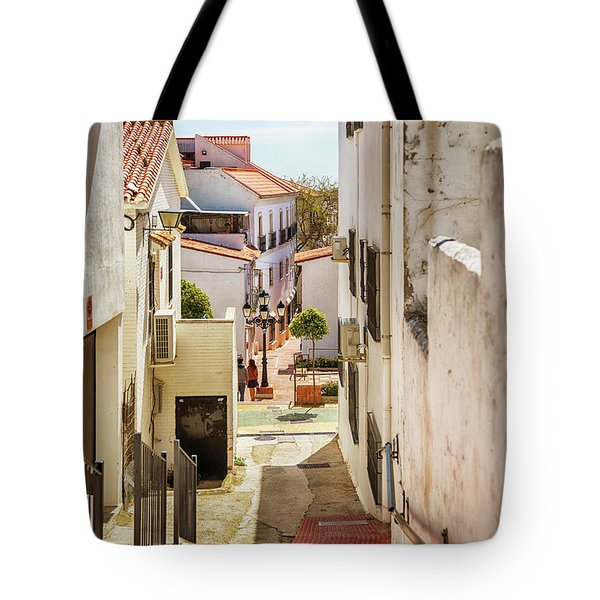 Tote Bag featuring the photograph spring season, Spain by Ariadna De Raadt