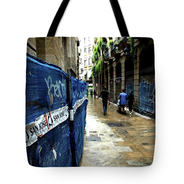 Street, Graffiti Tote Bag