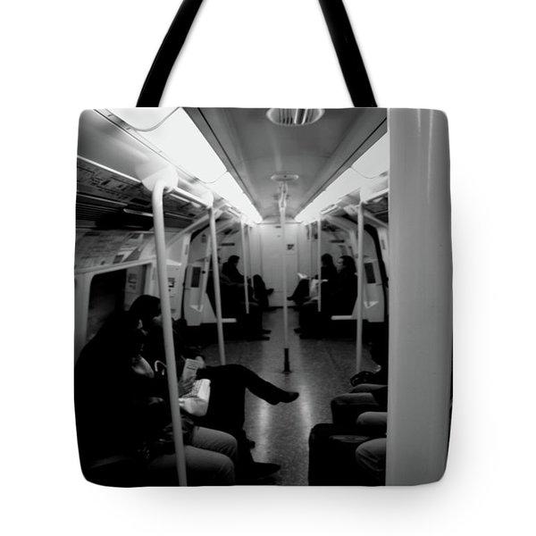 Subway Tote Bag