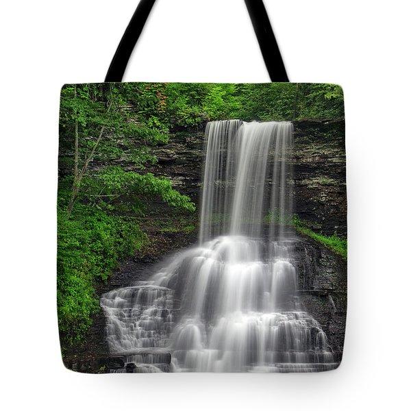 Summer Cascades Tote Bag