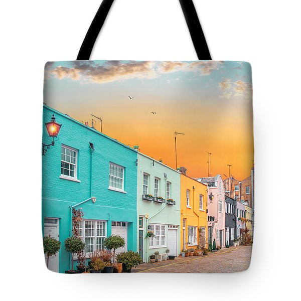 Sunset Street Tote Bag