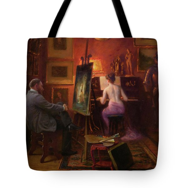The Artist's Model Tote Bag