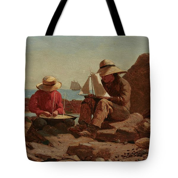 The Boat Builders, 1873 Tote Bag