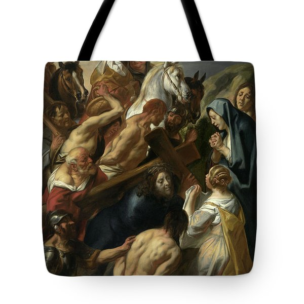 The Carrying Of The Cross, 1657 Tote Bag