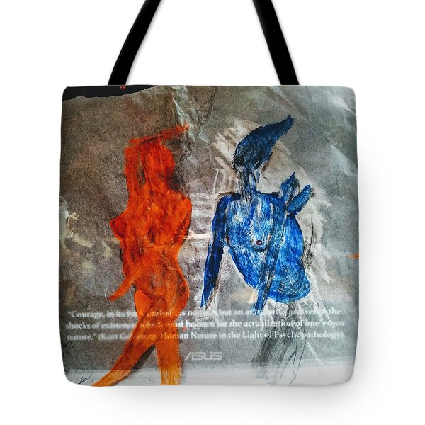 The Immolation Tote Bag