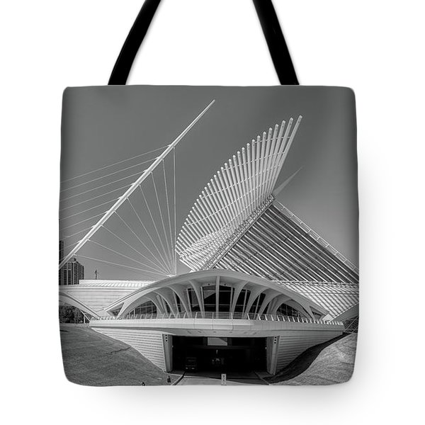 The Milwaukee Art Museum's Quadracci Pavilion Tote Bag