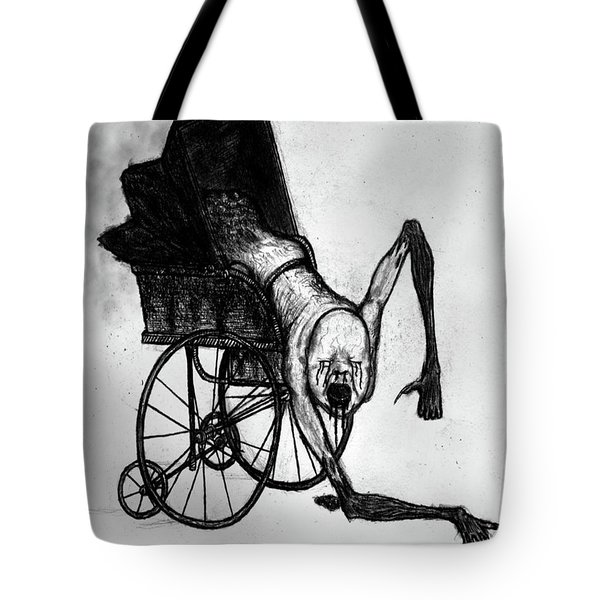The Nightmare Carriage - Artwork Tote Bag