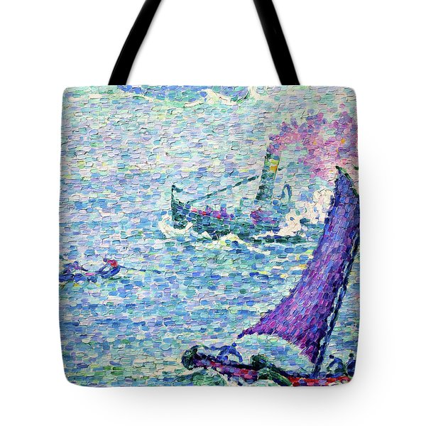 The Port Of Rotterdam - Digital Remastered Edition Tote Bag