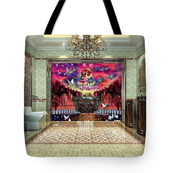 The Value Of Friendship Tote Bag
