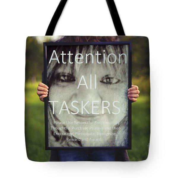 Thebroadcastmonkey Tote Bag