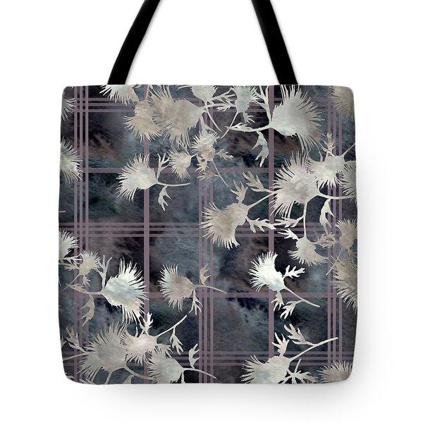 Thistle Plaid  Tote Bag