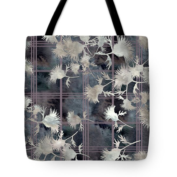 Thistle Plaid  Tote Bag