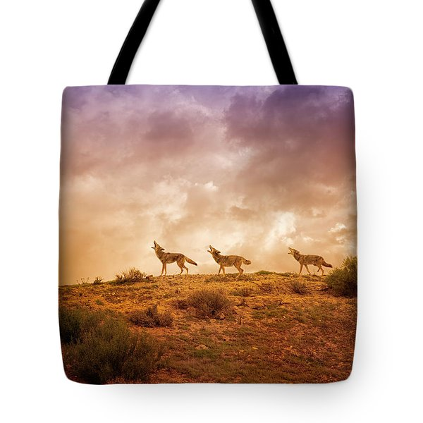 Three Part Harmony Tote Bag