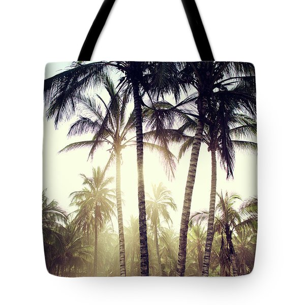 Ticla Palms Tote Bag