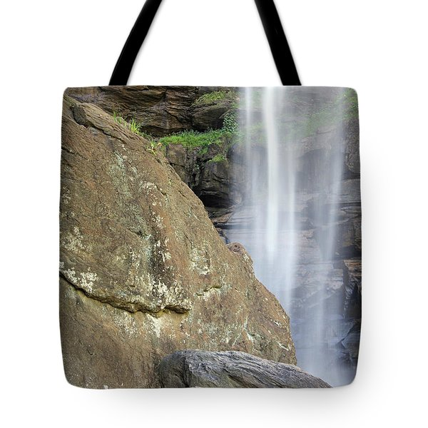 Tote Bag featuring the photograph Toccoa Falls 1 by Joseph C Hinson Photography