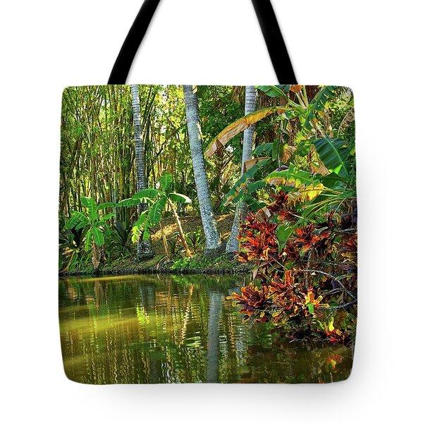 Tropical Corner Tote Bag
