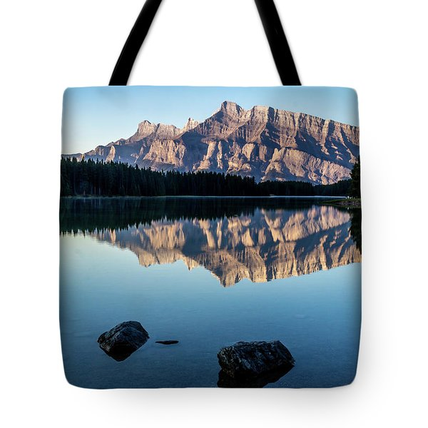 Two Jack Lake, Banff National Park, Alberta, Canada Tote Bag