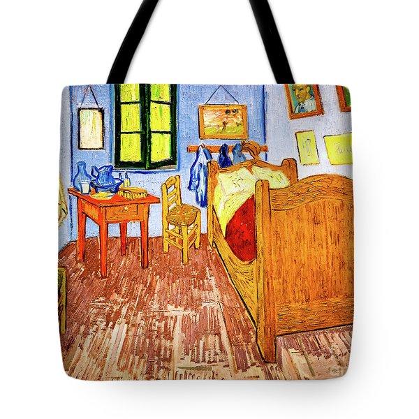 Van Gogh's Bedroom Tote Bag