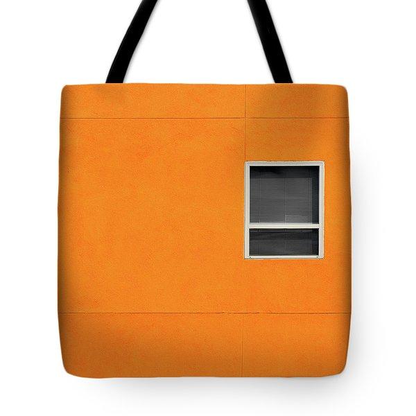 Very Orange Wall Tote Bag